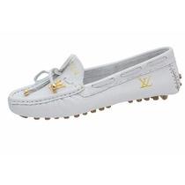 Mocassim Louis Vuitton Importado Branco ( Frete Grátis )