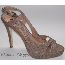 Peep Toe Meia Pata 35 Shoestock (0104)