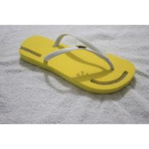 Sandalia Chinelo Tipo Havaianas Decoradas Artesanalmente