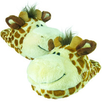 Pantufa Infantil Aberta Girafa Numeração 28 Ao 34 Manuque