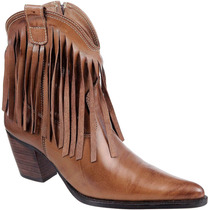 Bota Feminina Franja Country Texana Rodeo Capelli Boots