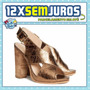 H&m | Sandália De Salto Alto | Importada Eua | 38 Bra