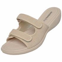 Tamanco Feminino Azaleia Velcro 322/246 Snob Calçados-s1