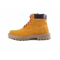 Bota Coturno Adventure Yellow Boots Tipo Vegans Premium