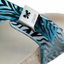 Chinelo Zaxy Fashion Flat - Azul - Molesinha Calçados