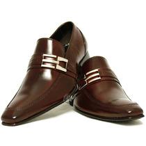 Sapato Social Masculino Bico Italiano-100% Couro- Lançamento