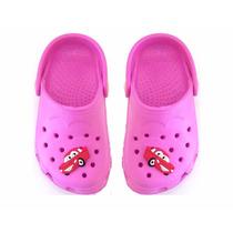 Crocs Babuche Infantil Sandália Feminino Rosa -9491