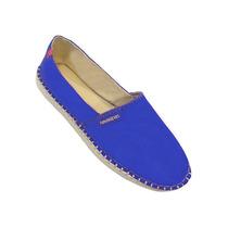 Alpargatas Havaiana Original Azul, Azul Claro, Rosa E Verde