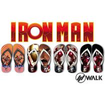 Chinelos Homem De Ferro - Os Vigadores - The Avengers