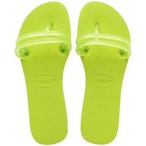 Sandálias Chinelos Havaianas Flat Gum N°37/38