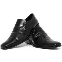 Sapato Social Masculino - Lançamento! Solado De Couro 100%