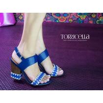 Sandalia Torricella Azul
