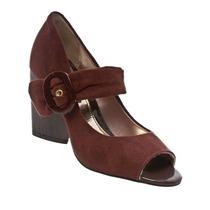 Sapato Peep Toe Boneca Feminina Salto Moleca Linda 5134103