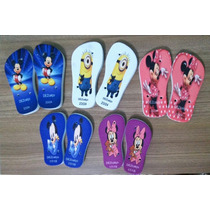 Chinelo Personalizados Infantil