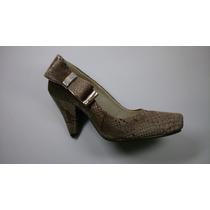 Sapato De Salto Grosso Feminino (salto 8cm) Biazzi