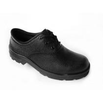 Sapato Cadarço Vj Calçados Sem Bico De Aço 033sa