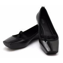 Melissa Ballet Bow - Tamanho 39/40 - Preta - Nova