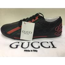 Sapatenis Gucci Original Masculino Promoção Especial