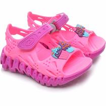 Sandalia Papet Flex Feminina Infantil Cupcake Rosa