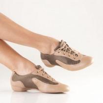 Tênis Para Dança De Salão Só Dança Caramelo/ouro Ch110