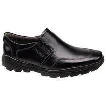 Sapato Masculino Conforto Calvest Couro Legítimo Promoção !