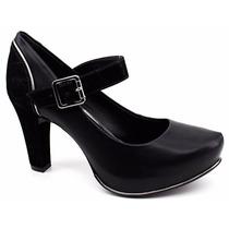 Sapato Scarpin Feminino Boneca Dakota Original B7894 Pixolé