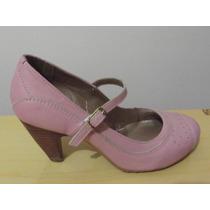 Sapato Boneca Feminino N° 36 Couro