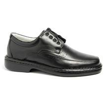 Sapato Social Antistress Diabeticos Em Couro Ref.: 00761