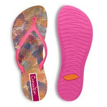 Chinelo Kenner Lips Original Feminino Rosa