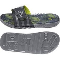 Chinelo Adidas Adissage Massageador Footbed Original Cinza