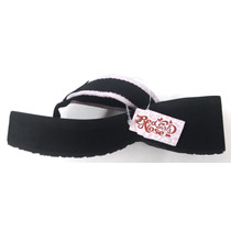 Chinelo Sandália Surf Plataforma Red Nose Girls Hibisco Rosa