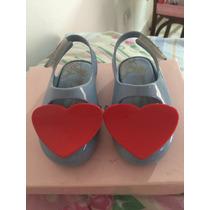 Mini Melissa Heart Coração Vermelho