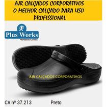Crocks Soft Work Plus Palmilha [ Restaurante, Gastronomia ]