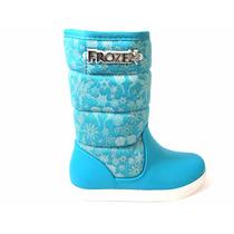 Botinha Infantil Feminina Frozen 21447 Snob Calçados-s1