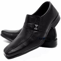 Sapato Sapatenis Social Masculino Casual Detalhe Fivela