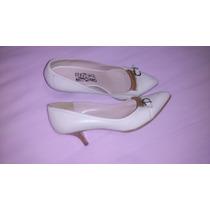 Sapato Scarpins Creme Salvatore Ferragano Nº39