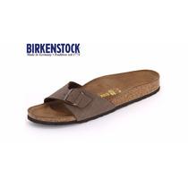 Birkenstock Madrid Sandalias Originais Modelo Marrom Mocca