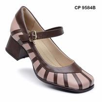Sapato Boneca Estilo Retro Nr.38 (palmilha Sistema Comfort)