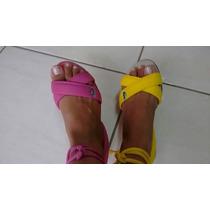 Sandália Lacoste Rasterinha Gladiadora