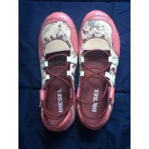 Lindo Sapato Rosa Diesel Tam. 37 Original Importado