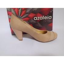 Sapato Boneca Nude Azaléia - Lindo E Confortável!!!