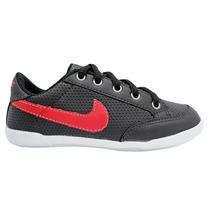 Tenis Sapatênis Infantil Nike Preto/vermelho 1ª Linha P12347
