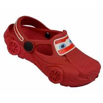 Sapato Infantil Yuupiii Carros Relâmpago Igual Crocs Babuche