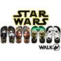 Chinelos Star Wars - Darth Vader - Yoda - Luke - Clone