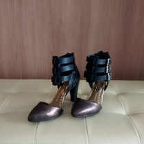 Scarpin Bronze Dakota, Conforto,qualidade,estilo.