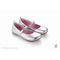 Sapatilha New Fizz Sterling Silver Tip Toey Joey Prata