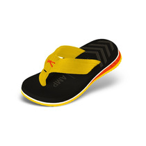 Sandália Kenner Infantil Joy Nk5 Amp Preto/amarelo