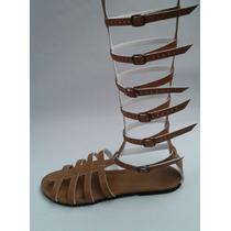 Sandália Gladiadora Do 33 Ao 44 Numero Grande Varias Cores