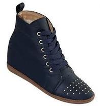 Sneaker Tenis Bota Cano Salto Feminino 34 35 36 37 38