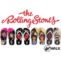 Chinelos Rolling Stones